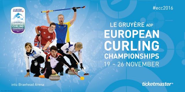 CURLING - Campeonato de Europa femenino 2016 (Braehead, Escocia): Rusia defendió la medalla de oro ante las suecas