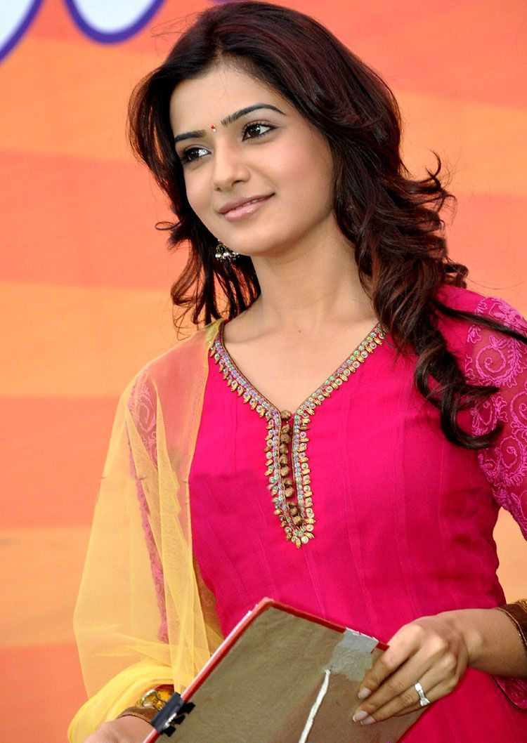 Samantha In Saree: South Indian Girls: Actress Samantha Latest Pictures In
