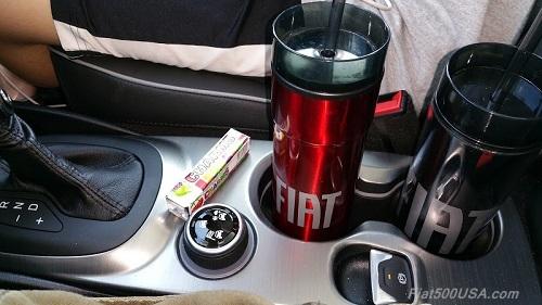 2016 Fiat 500X Center Console