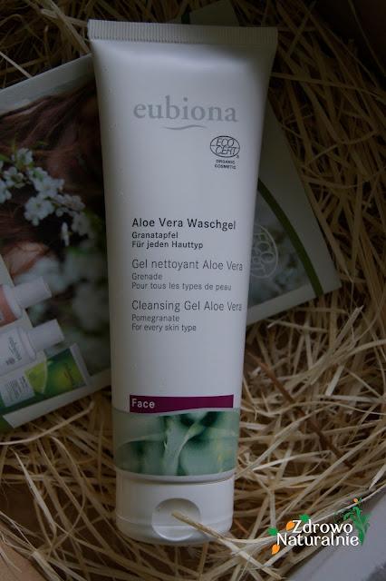 Eubiona - Aloe Vera Żel oczyszczający do twarzy