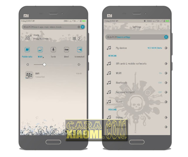Download Thema Xiaomi Rock n Roll Mtz For MIUI Update
