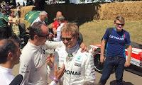 Robert Kubica Nico Rosberg F1 Formuła 1