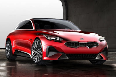 Kia Proceed Concept (2017) Front Side