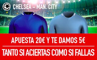 sportium promocion Chelsea vs City 30 septiembre