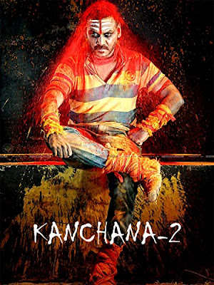 Poster Of Kanchana 2 Muni 3 In Dual Audio Hindi Tamil 300MB Compressed Small Size Pc Movie Free Download Only At worldfree4u.com