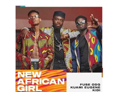 Fuse ODG ft Kuami Eugene & KiDi – New African Girl (Mp3 + Video Download)