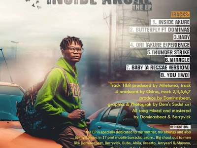DOWNLOAD EP: MileTunez - Inside Akure || @miletunezgram