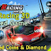 City Racing 3d mod Hacked game unlimited Coins shopping and Diamond