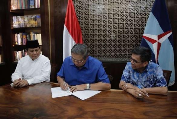 Demokrat: Jangan Kau Ragu, Prabowo - Sandi Punya Pelatih yang Hebat yaitu SBY