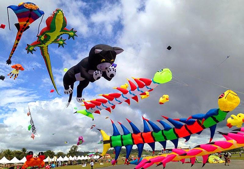 Kelantan International Kite Festival 2014