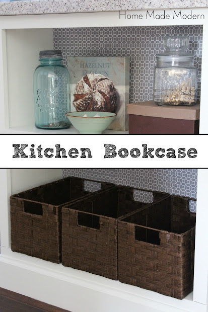 kitchen island bookcase