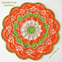how to crochet, free crochet patterns, mandalas, stars,