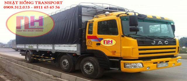xe tải chuyển hàng đi Huế