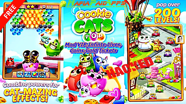 Cookie Cats Pop Apk MafiaPaidApps
