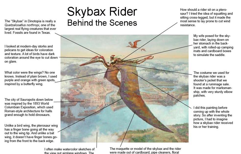 Gurney Journey Behind Skybax Rider