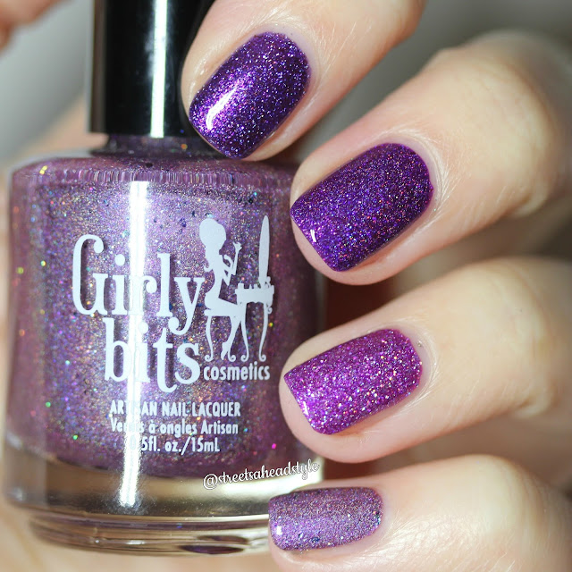 Girly Bits Purple Nail Polish