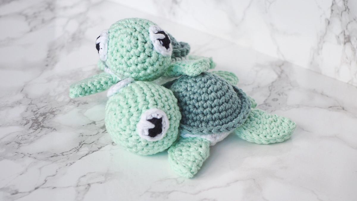 Schildkröte Amigurumi häkeln