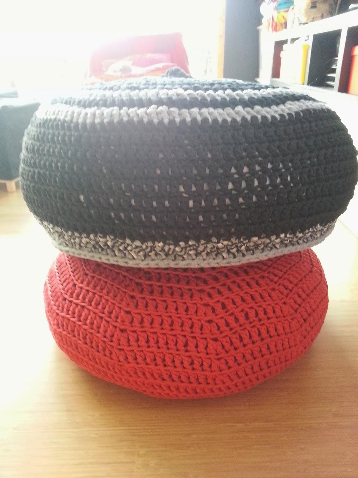 Zpagetti Poef Large Hoookednl Little Wendy Crochet