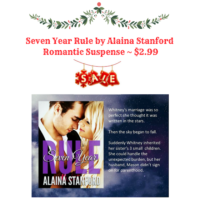 Romantic Suspense: Blog Tour: Seven Year Rule By Alaina Stanford