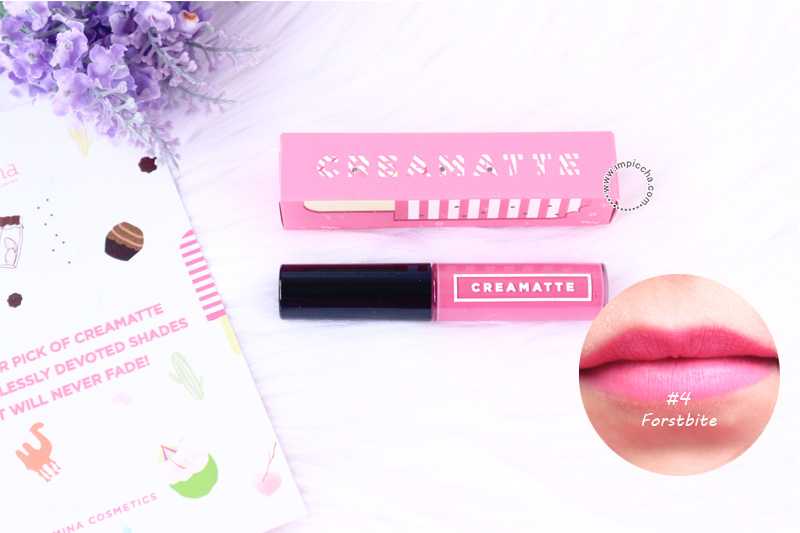 Emina Creamatte Lip Cream Frostbite