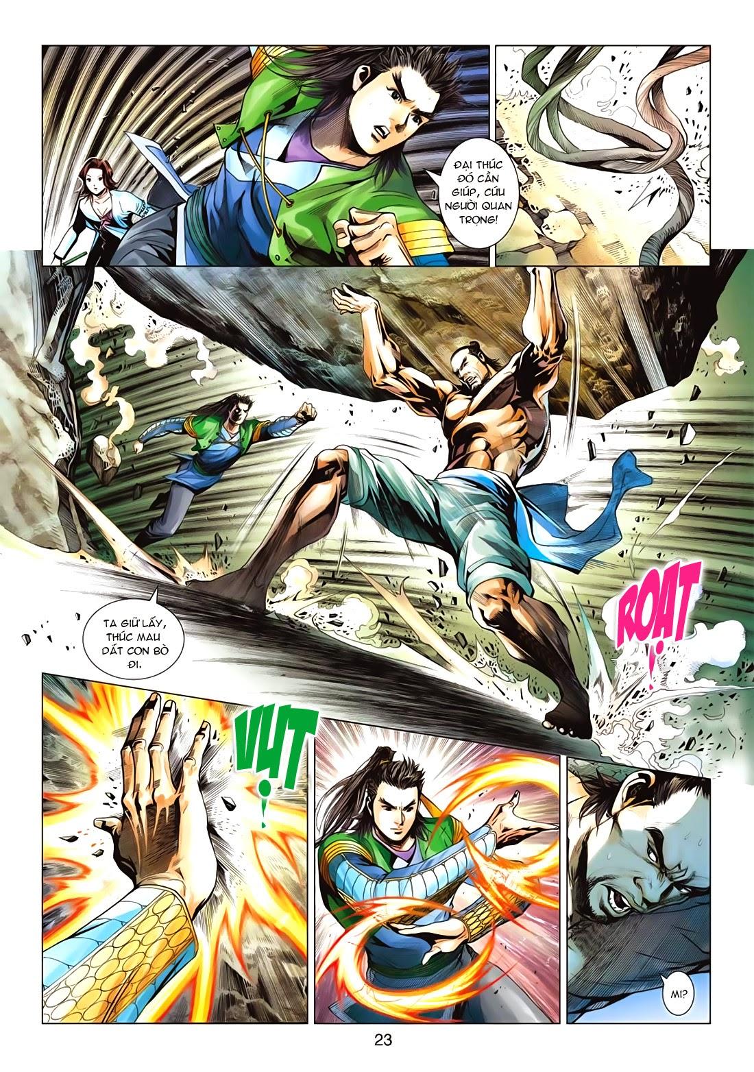 Anh Hùng Xạ Điêu anh hùng xạ đêu chap 72: ngư tiều canh độc trang 23