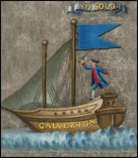 Bernardo de Gálvez, Yo Solo, emblema, heráldica, Carlos III, bahía Pensacola, Florida, honor y valor que me siga