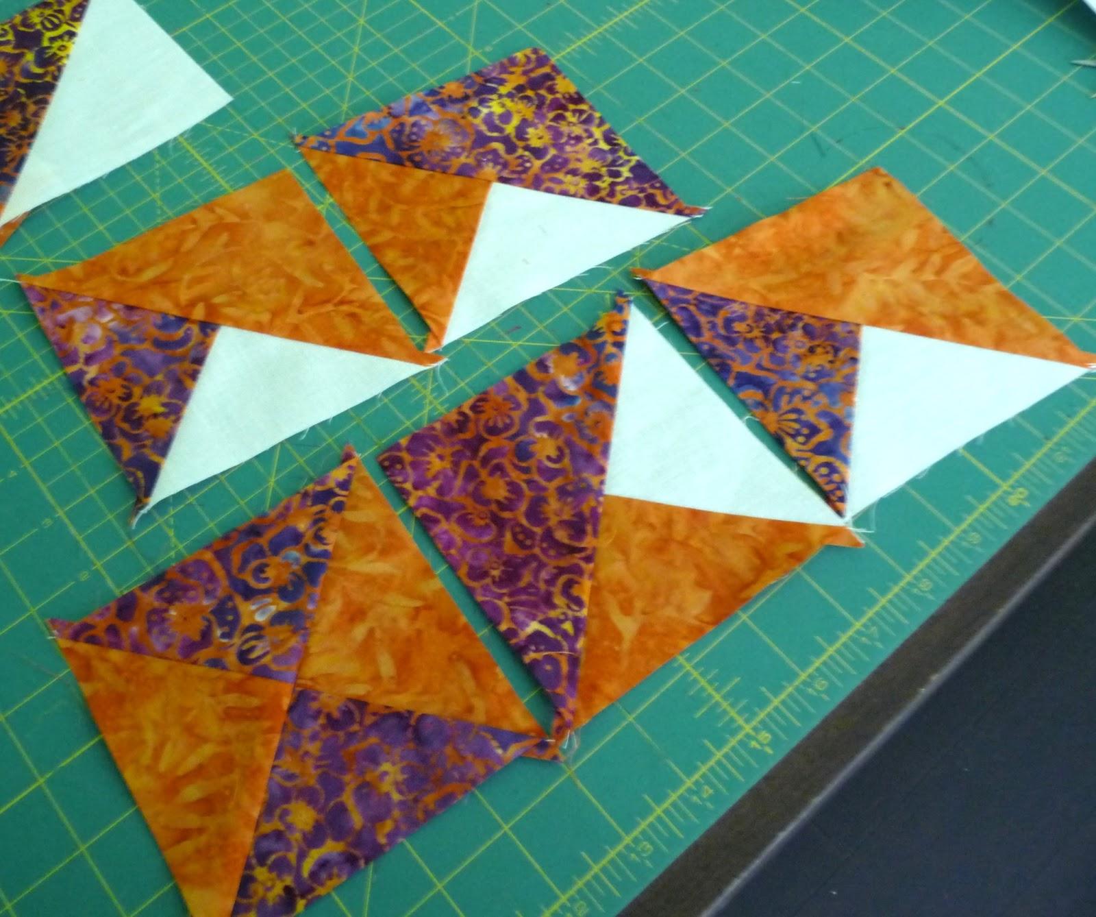 handmadewhimzy blog: Card Trick Quilt Block Tutorial