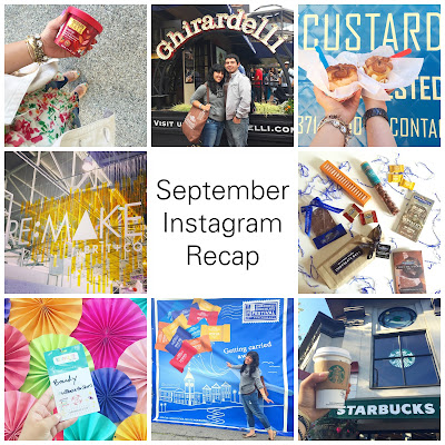 September Instagram Recap - Blogger Will Bake for Shoes