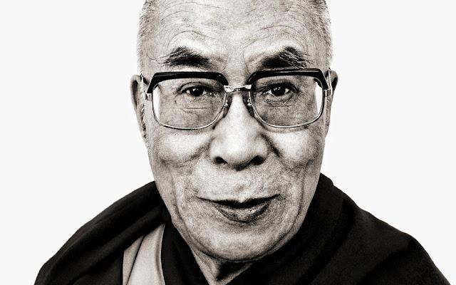 Dalai Lama - Foto Albert Wiking