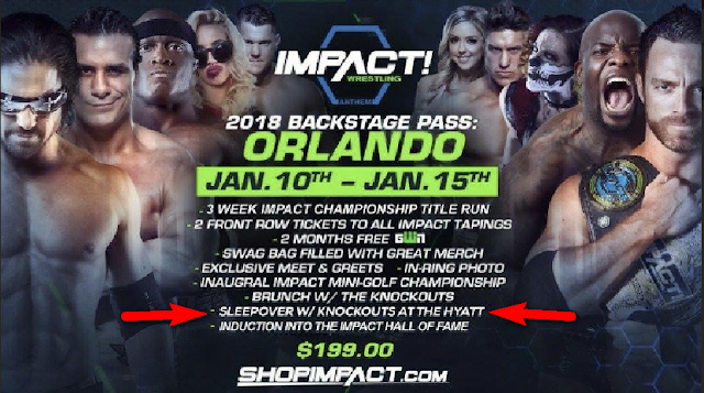 Sleepover with the TNA Knockouts AKA Fuck a TNA Knockout for $199.  STRENGTHFIGHTER.COM