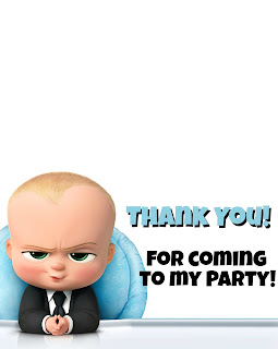 boss baby birthday ideas