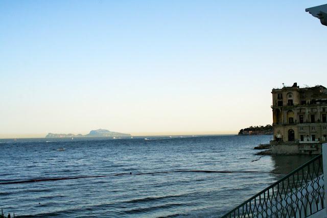 mare, acqua, palazzo, cielo, palazzo Donn'Anna