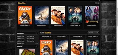 Template para blog de filmes e series #01052