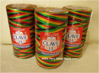 Hilos Clave - Nylon Thread, large cones