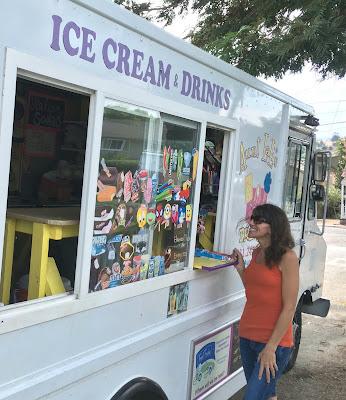 Santa Cruz Ice Cream Truck AuntLali.Com
