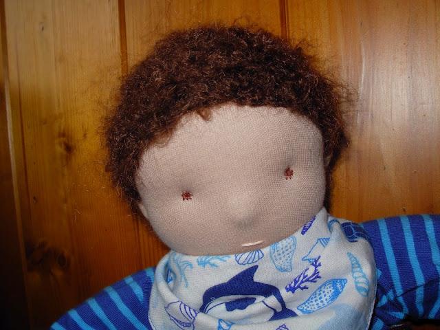 Puppe genäht