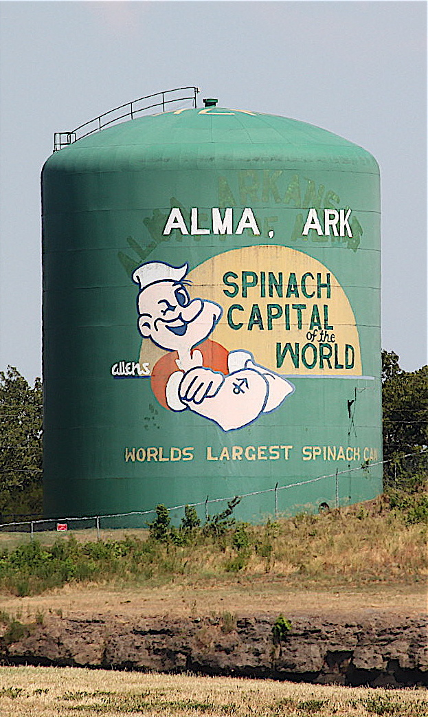 Need A Break On I 40, Pull Off When You See The U0027Worldu0027s Largest Spinach  Canu0027