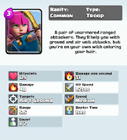 Clash royale game archer card