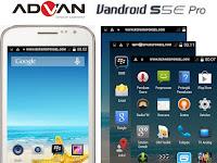 Cara Screenshot Advan S5E Pro