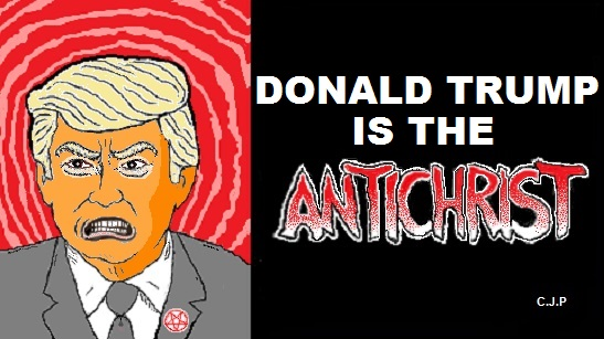 trump antichrist chick tract meme