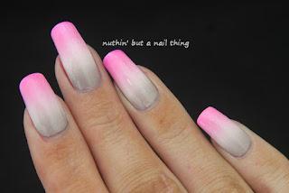 gradient nail art design ideas
