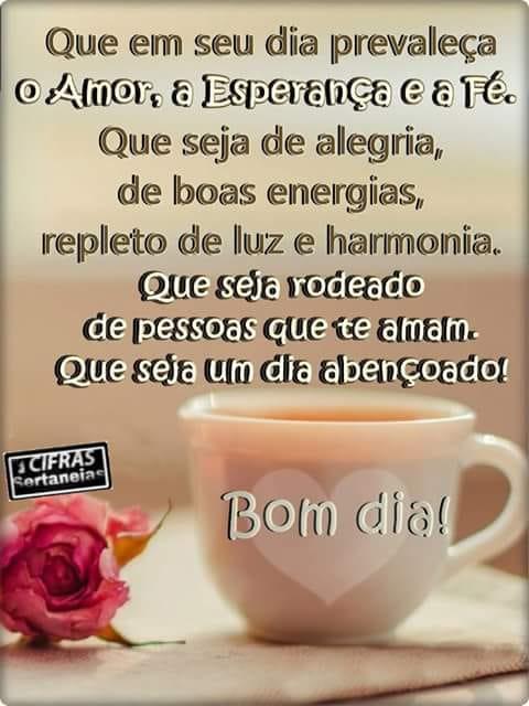 Titlefrases De Bom Dia Amor Esperança E Fé Frases De Bom Dia