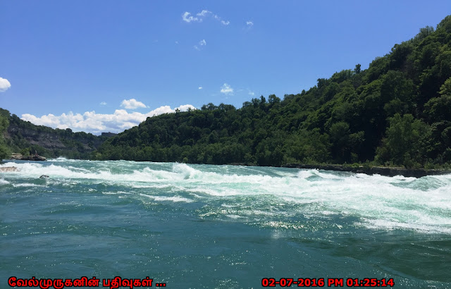 Niagara Gorge Devil's Hole class 5 white water