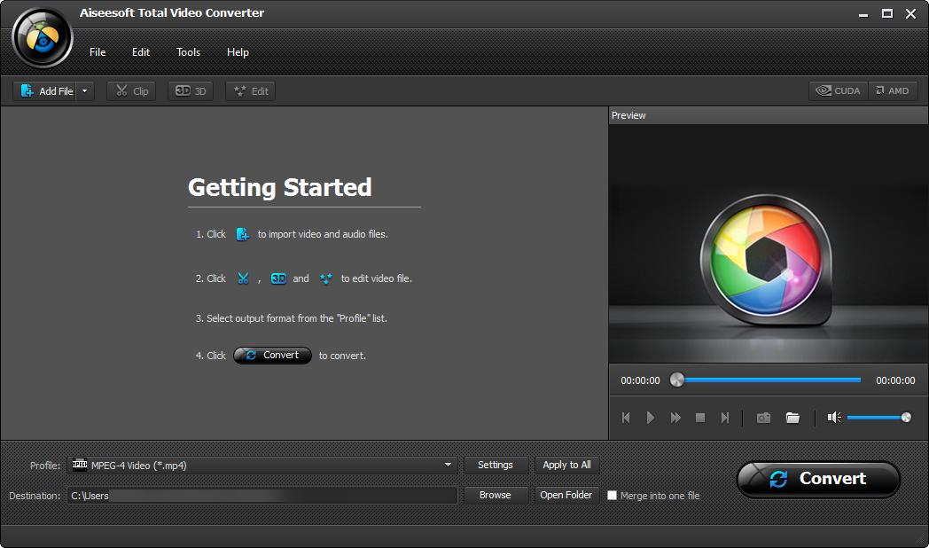 Download Aiseesoft Total Video Converter Crack