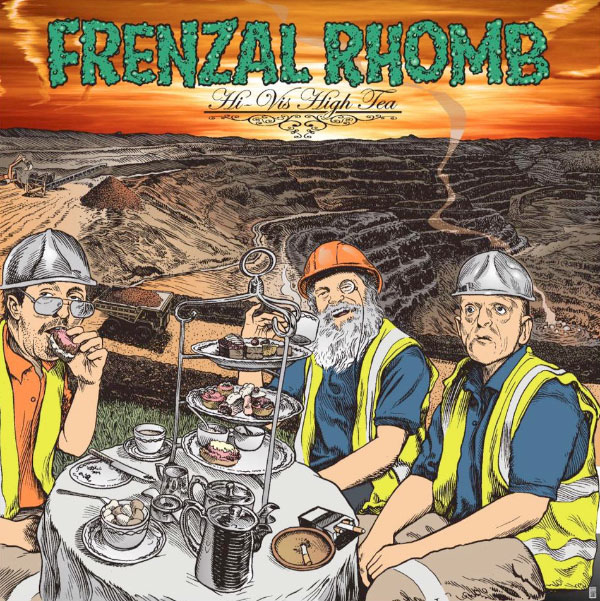 "Frenzal Rhomb announce new album ""Hi-Vis High Tea"" stream new song ""Cunt Act"""