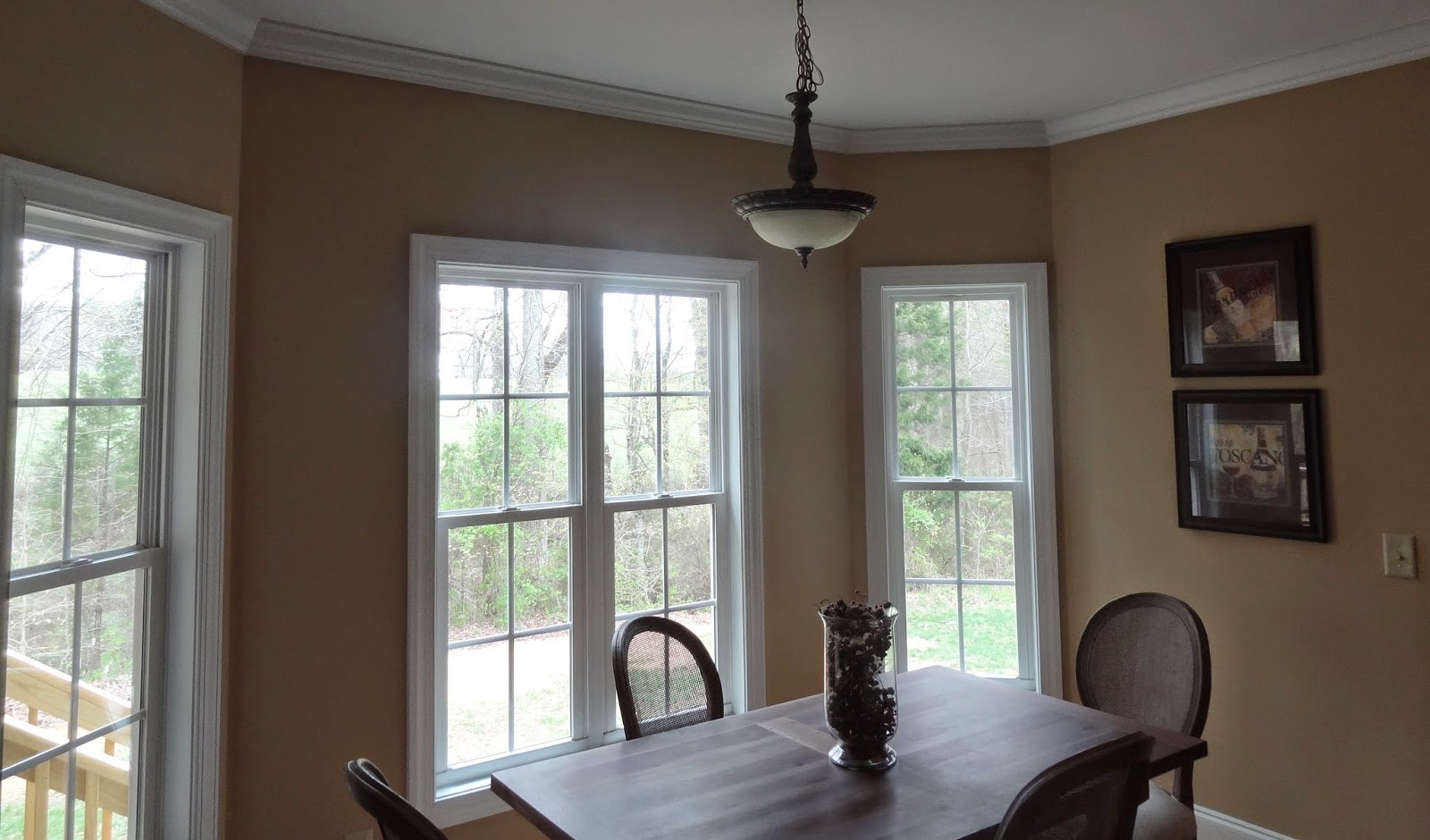 Far Left U2013 Kitchen Valances Make The Windows Feel Taller. In This Living  Room, The Transom Windows Are Larger Than Most. If This Is Something Your  Builder ...