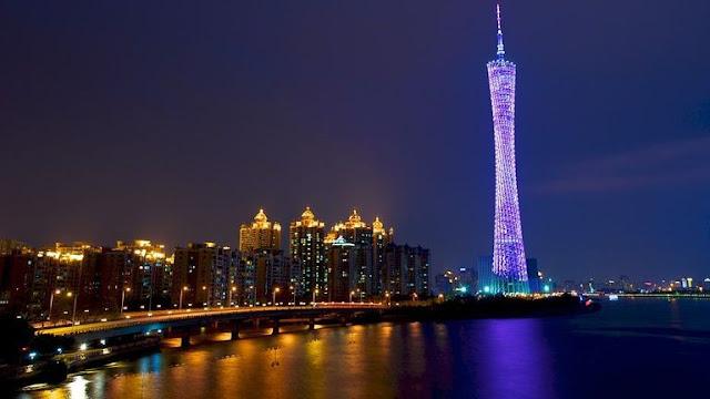 Canton Tower é mais um projeto ousado da humanidade