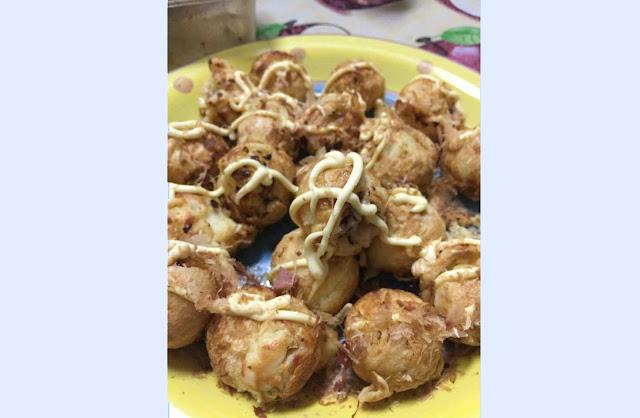 Resepi Takoyaki dari Jepun