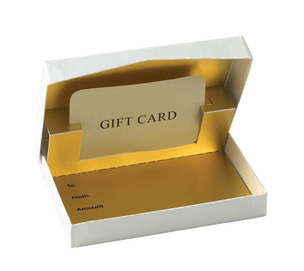 Custom Kraft Packaging Boxes Wholesale Gift Card Boxes For Retail