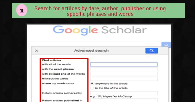 5 Important Google Scholar Features Teachers Should Know